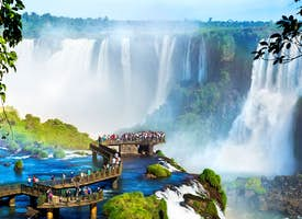 In the heart of the Iguazu Falls - Live streaming tour's thumbnail image