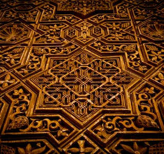 A different perspective of the Alhambra's gallery image