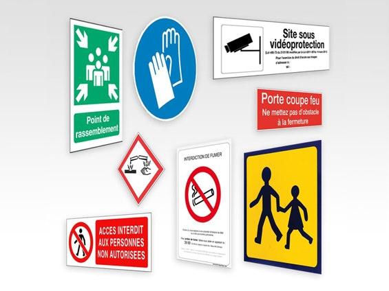 signalétique industrielle et sécurité