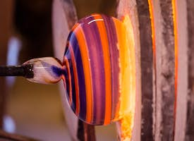 Fire and sand: History & Practice of Glass-making in Murano with an Artist's thumbnail image