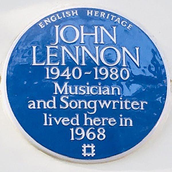 John Lennon in London's main gallery image