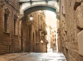 Barcelona's Gothic Quarter Highlights Live Virtual Tour's thumbnail image