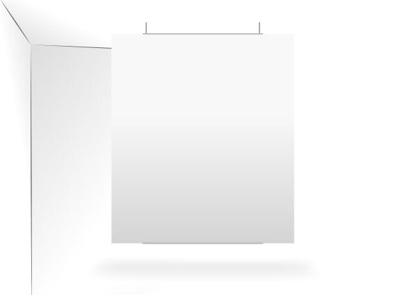 PLV Fond de vitrine