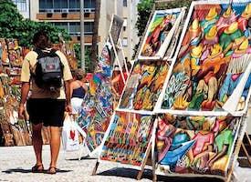 Hippie Market in Rio - IPANEMA - Live Streaming Tour's thumbnail image