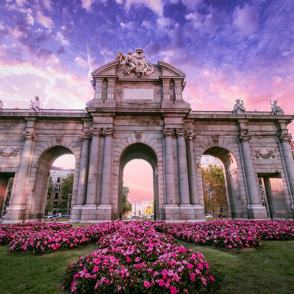Bourbon Madrid: Discover the city's most scenic spots - Live Virtual Experience's main gallery image