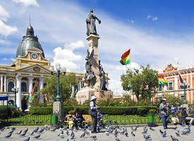LA PAZ, the highest capital of the world - Live streaming tour's thumbnail image