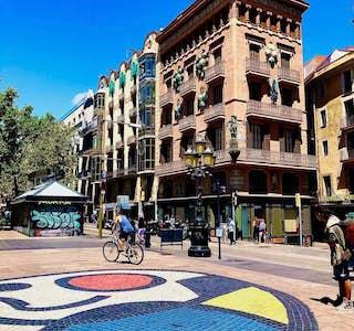 Rambling along La Rambla with Josep's gallery image