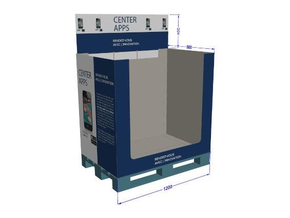 PLV box de palette