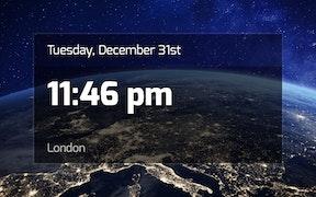 Clock App for Digital Signage image carousel