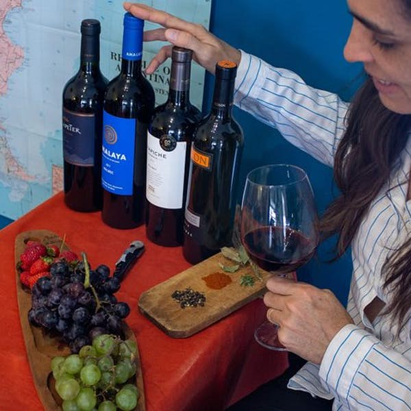 Enjoy a tasting of the iconic Malbec wine, Argentina's flagship variety's main gallery image