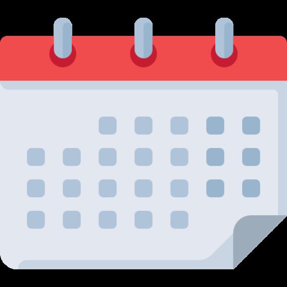 Ícone de um calendário