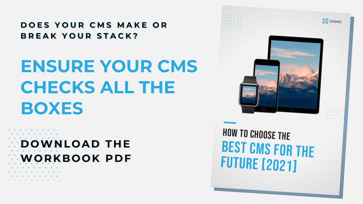 choose a cms with our free PDF