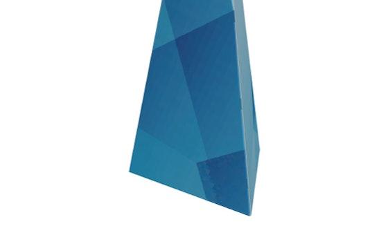 Totem pyramidal vue