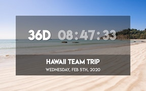 Countdown App for Digital Signage image carousel