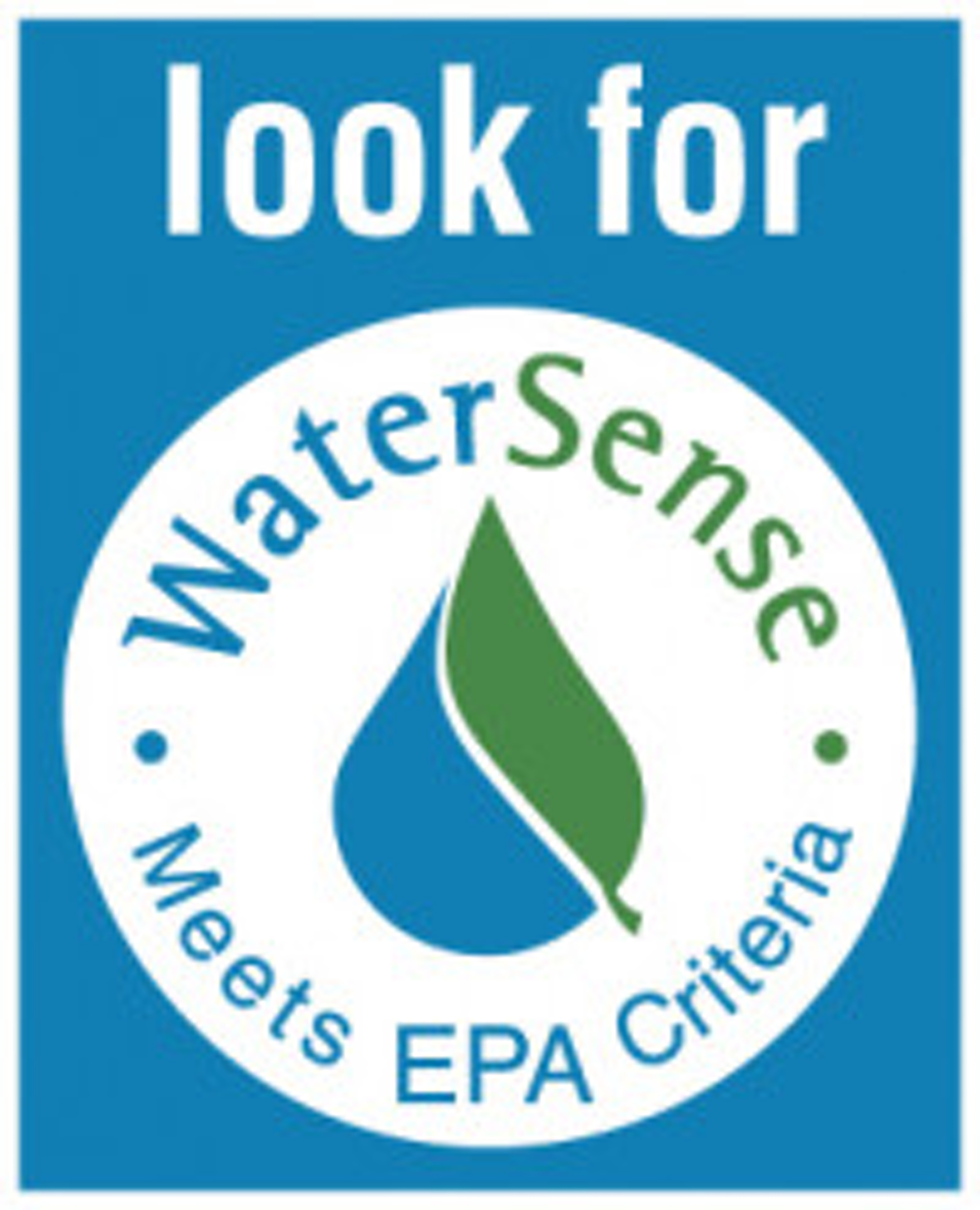 Look for WaterSense Logo