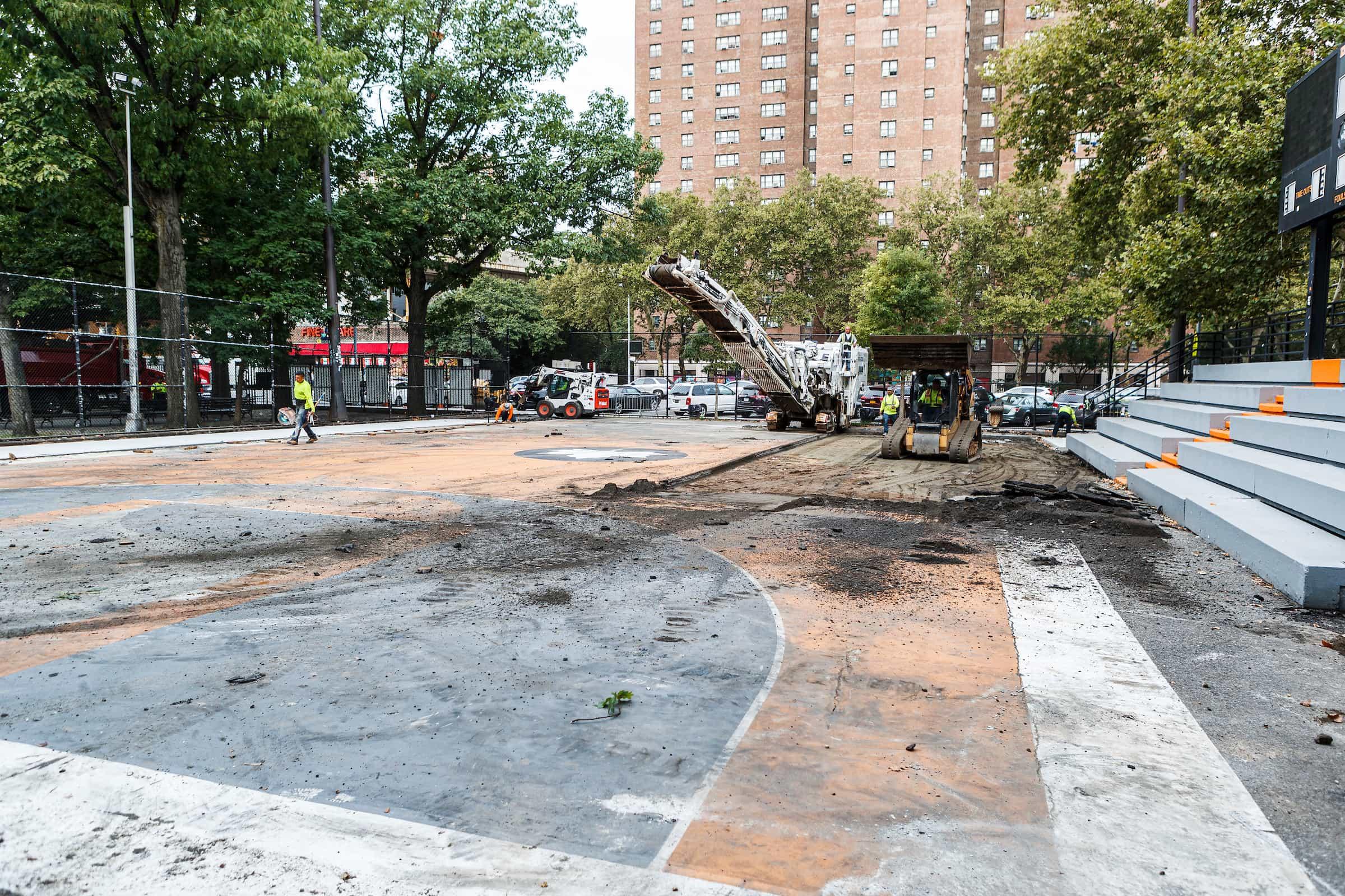 Picture of Rucker Park Groundbreaking