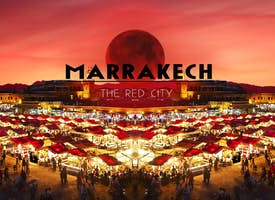 Discover the Red City of Marrakech: Online City Walk's thumbnail image