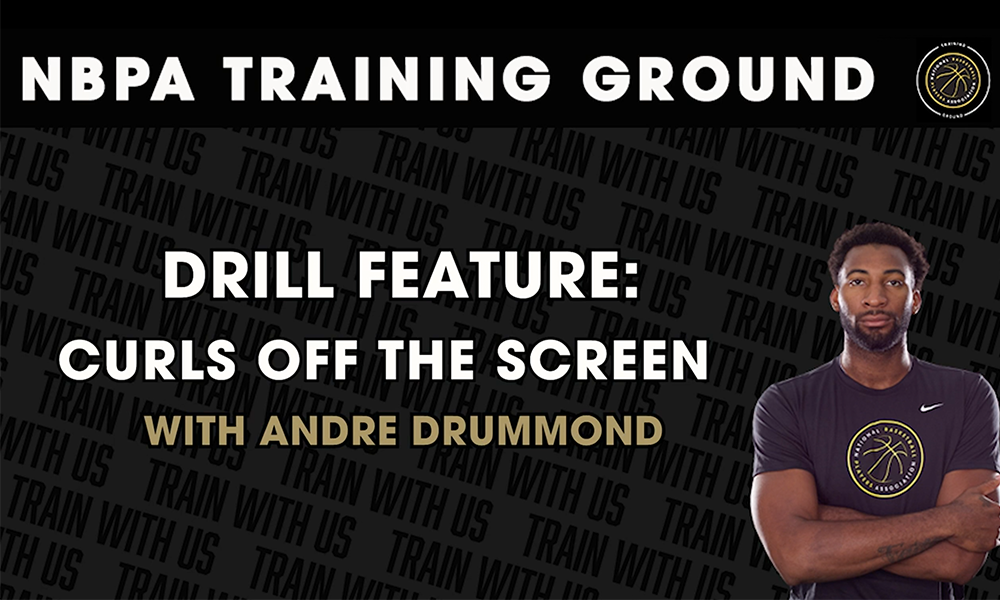 Learn the Art of Curling off the Screen with Andre Drummond