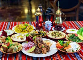 Flavors of Middle East & Asia: Online Cooking Class's thumbnail image