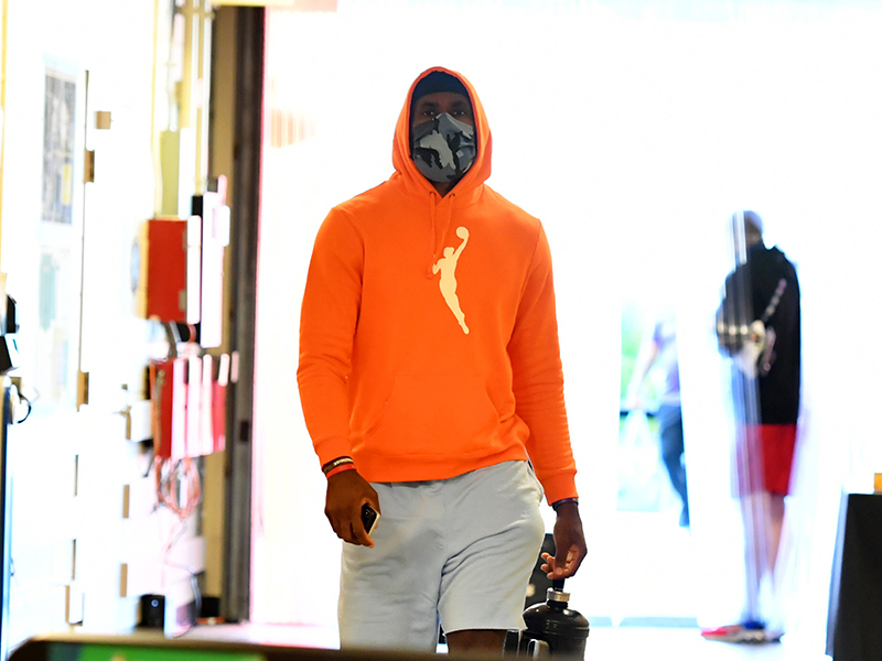 Player Fashion: Orange WNBA Hoodie