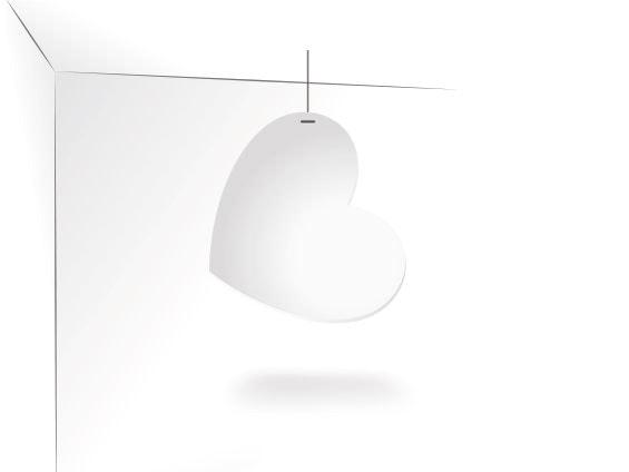 PLV Silhouette suspendue