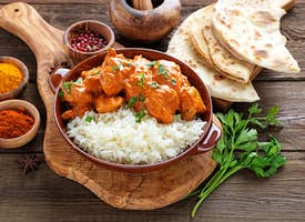 Indian Chicken Tikka Masala: Online Cooking class with a Home Chef's thumbnail image