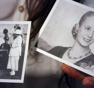 Take in Evita Peron's life and learn about other women who transformed Argentina's gallery image