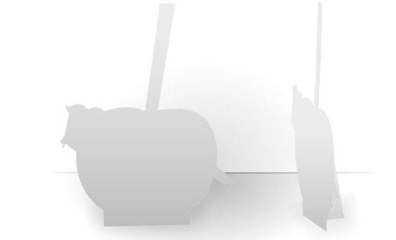 Silhouette de comptoir personnalisable