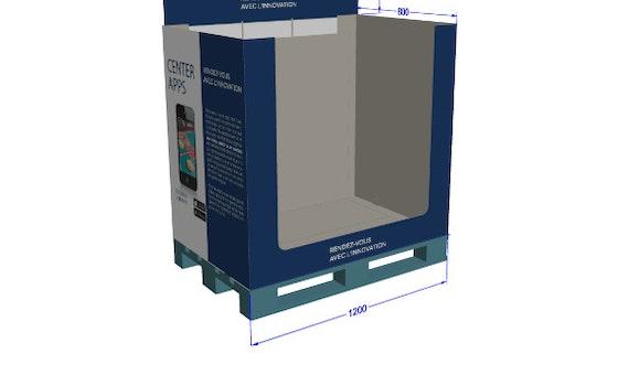 Box palette personnalisable