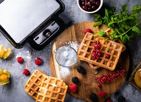 Belgian Waffles: Online Baking Class with Local Foodie's thumbnail image