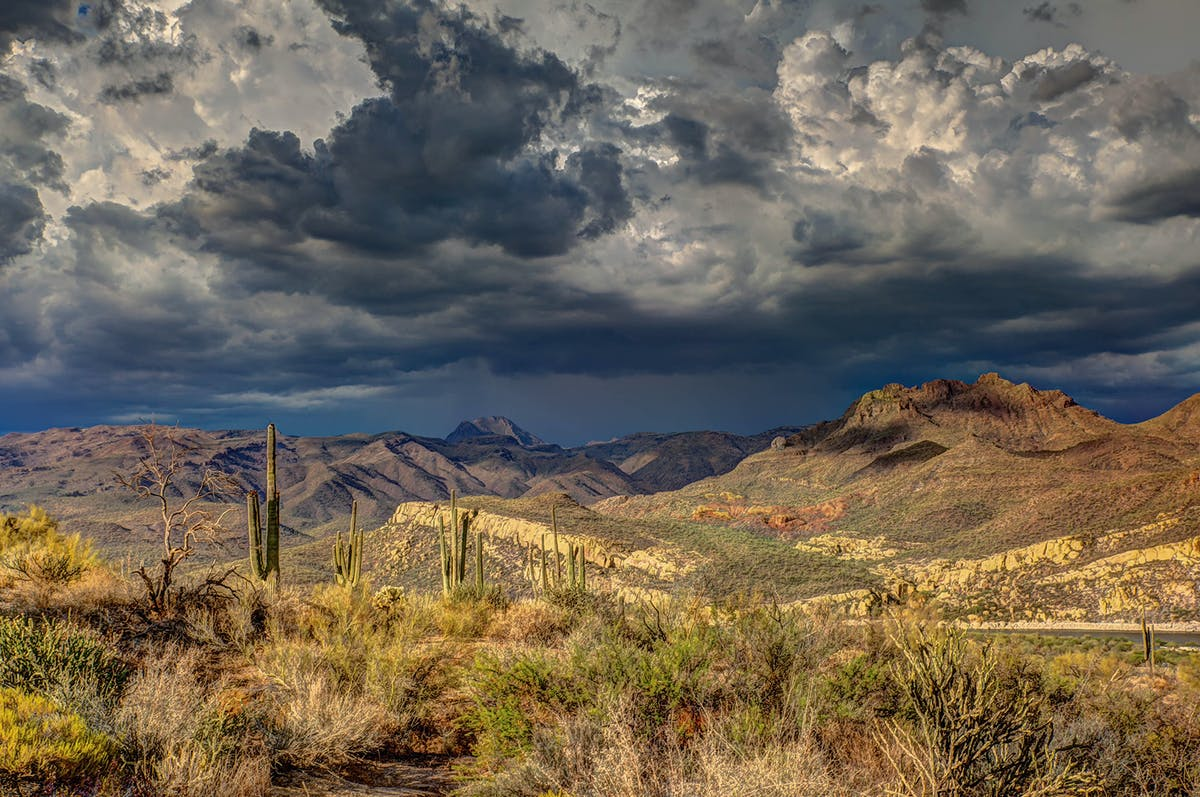 Arizona foothills
