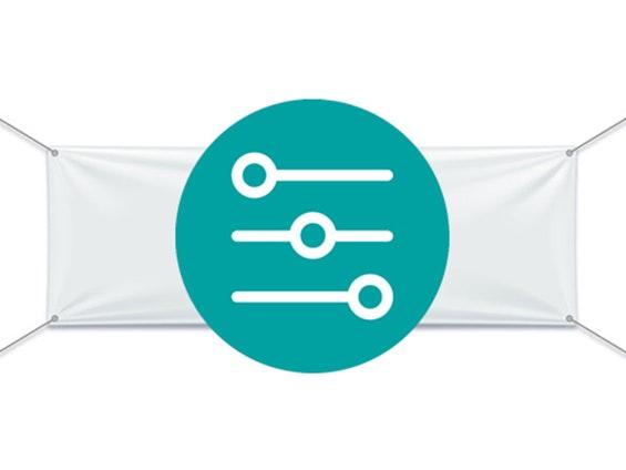 banderole sur mesure imprimée sur bâche pvc