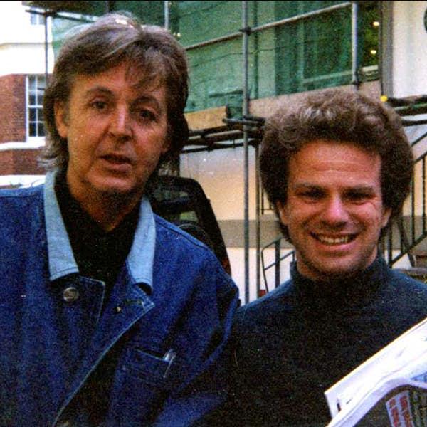 Paul McCartney in London's main gallery image