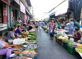 Bangkok  Most Authentic' Khlong Toey Fresh Food Market 's thumbnail image