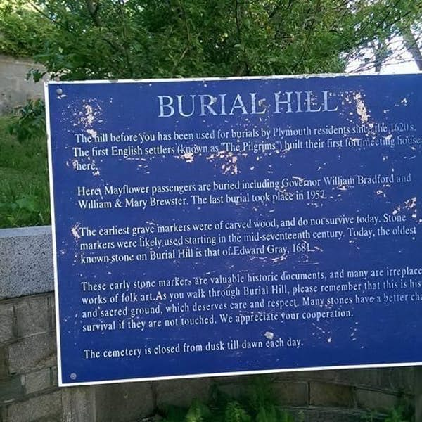Ghostly Visit to Plymouth's Historic Burial Hill's main gallery image