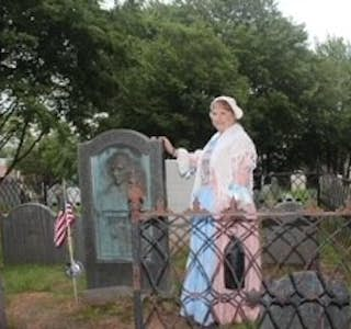 Ghostly Visit to Plymouth's Historic Burial Hill's gallery image