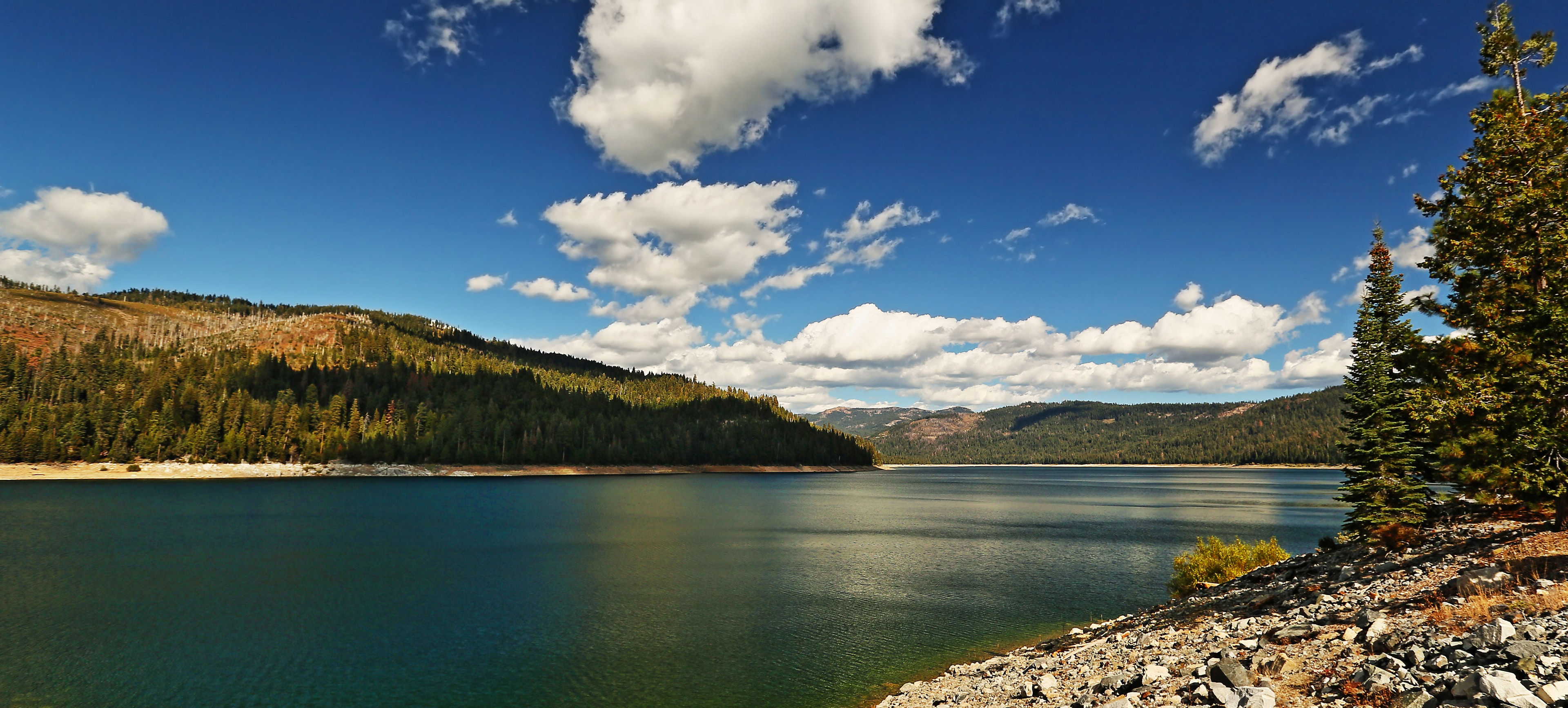 A photo of French Meadows Reservoir