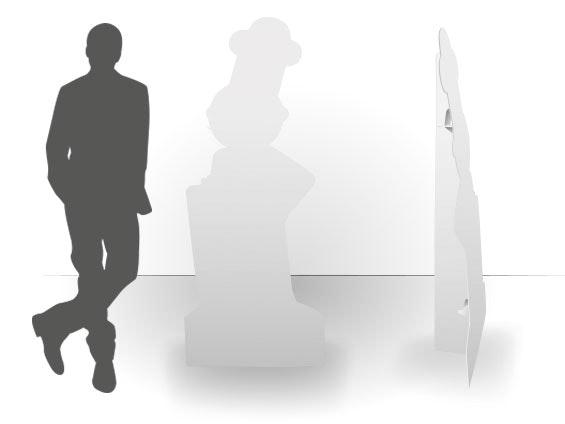 PLV silhouette