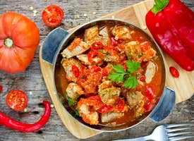 Hungarian Chicken Paprikash: Online Cooking Class with a Local Chef's thumbnail image
