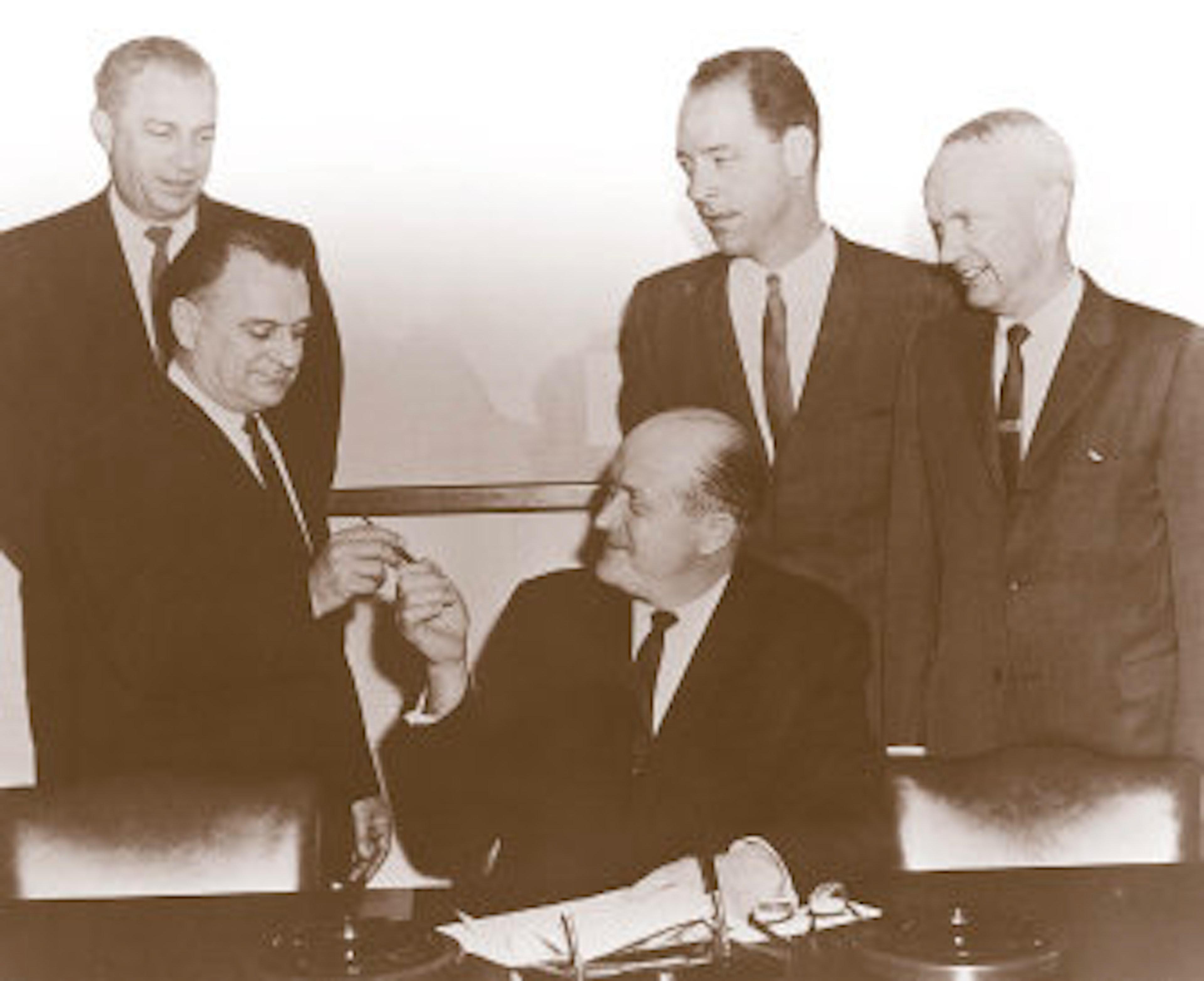 Photo of past PCWA Board Members