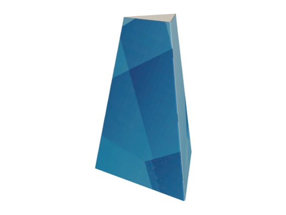 Totem pyramidal personnalisé