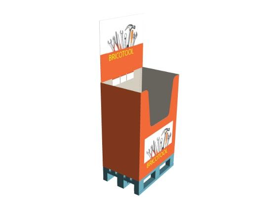 PLV box 1/4 palette