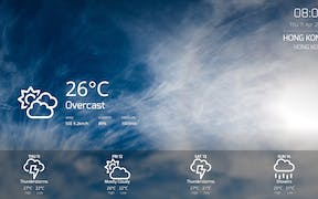 Weather App for Digital Signage image carousel